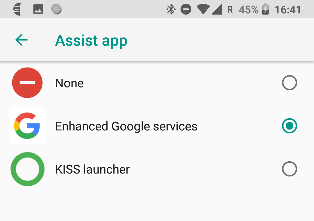 How to use KISS as an assist app? | KISS